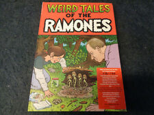 WEIRD TALES OF THE RAMONES-3 CD 1 DVD-THE ROMONES-COMICS-3D-M22-FL