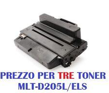 CARTUCCIA PER SAMSUNG ML-3300 ML-3310 ML-3312 ML-3710 ML-3712 X3 TONER MLT-D205L