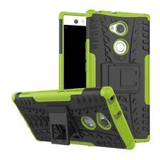 Etui Hybride 2 Pièces Extérieur Vert housse étui pour Sony Xperia XA2 étui coque