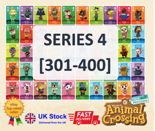 Series 4 ACNH Custom Amiibo Cards Animal Crossing New Horizons Nintendo Switch
