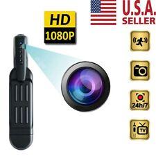 HD 1080P Pocket Pen Camera Portable Hidden Spy Mini Body Video Recorder DVR