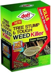 Doff Tree Stump & Weed Killer Kills Knotweed Brushwood Brambles Ivy Weed Sachet