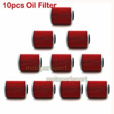 10x Oil Filter For BOMBARDIER OUTLANDER 330 MAX 800 650 400 DS650 BAJA DS650X