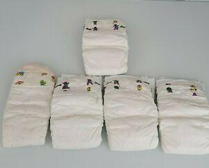 Vintage Luvs Diapers Plastic Barney Dinosaur Muppet Babies 90s Baby size 4