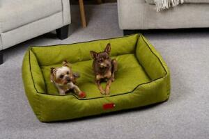 Blanc Bed for Dogs and Cats Pets Lounge Classic Green