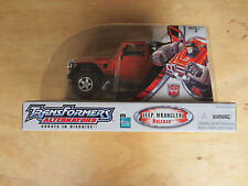 2005 Transformers Robots in Disguise RID Alternators Jeep Wrangler Rollbar New