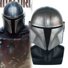 Movie Star Wars The Mandalorian Mask Cosplay Helmets PVC Masks Props Halloween