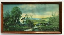 Muller, Luchsinger 1918 New England Farm Scene No. 917