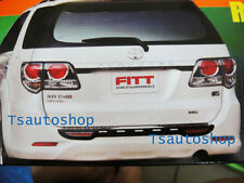 FOR NEW TOYOTA FORTUNER 2011-2013 FITT REAR BUMPER STEP PLATE GUARD COVER