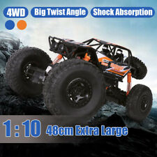 1:10 RC Monster Truck Off-Road Terrain Vehicle 2.4G Remote Control Car Gift US ❤