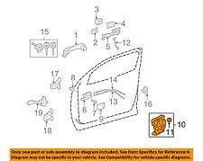 TOYOTA OEM Front Door-Lock Actuator Motor 690400C050