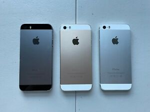 iPhone 5s good working condition -no iCloud -ready to use -Select Color+Carrier