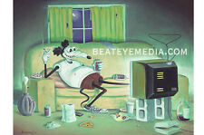 MICKEY RAT PRINT-UNDERGROUND COMICS,COMIX,COMIC,CRUMB,HIPPIE,60s,COUNTER CULTURE