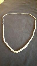 Antique Victorian Edwardian Cultured Pearl Necklace 60cm 20g Strung Lustre
