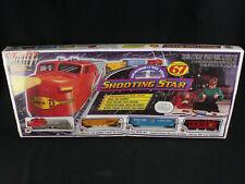 NOS Vintage Bachmann Shooting Star 67 Pc. HO Scale Santa Fe Electric Train Set