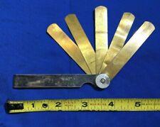 Mac Tools FG-23 Brass feeler gauge 5 blade