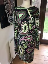 Emilio Pucci  Long Sleeve Dress Sz 40 Bnwt
