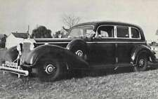 Dayton Ohio Stengers Ford Car Dealership  Hitler Armored Limo Non-PC AA7048