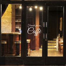 wall sticker adesivo vetrine bar caffè tazza coffee cornetteria aperitivo vetri