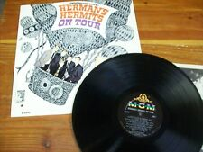"HERMAN'S HERMITS LP ""On Tour"" 2nd Album VG Condition"