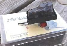 Transportanhänger mit 1 Achse mit Ladung   - von Saller 1:87