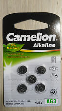 5pcs AG3 LR41 392 Button Cell Coin Alkaline Battery 1.5V Watch Toy 192 SR41W G3