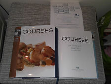 *Signed* MICHAEL BORNS Exec Chef Princess Cruises 'Courses : A Culinary Journey'
