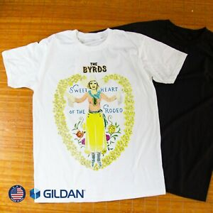 The Byrds Sweetheart of The Rodeo Unisex T-Shirt Size S-3XL Free Shipping