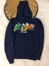 Disneyland Resort Mickey Mouse-Donald Duck/Goofy 2007 Hoodie  Size small