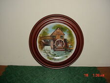 """OXMOOR GALLERY COUNTRY LIVING LEGACY """"GRIST MILL"""" COLLECTIBLE PLATE/L.EDITION"""