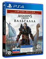 Assassin's Creed: Valhalla Limited Edition (PS4/PS5, 2020) English,Russian