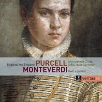 ENGLAND,MY ENGLAND/BALLI E BALLETTI 2 CD NEW MONTEVERDI,CLAUDIO