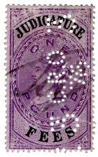 (I.B) QV Revenue : Judicature Fees £1 (1875) Criminal Records Office