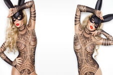 SPLENDIDA Cosplay BUNNY sexy vestito da foto su tela #204 erotico Muro Appeso ARTE