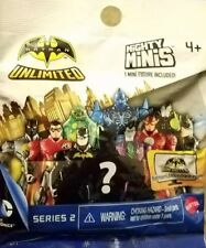 Batman Unlimited Mighty Mini Figure Assortment Series II 2 Mattel Blind Pack Bat