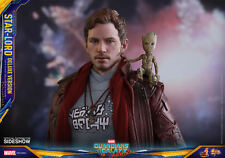 Hot Toys Star-Lord DELUXE Guardians of the Galaxy 2 1/6 Scale Figure In Stock