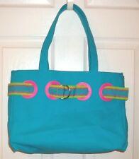 89c0fa6019 RALPH LAUREN~AQUA SHOULDER BAG~NEW Pocketbook Handbag~BLUE~Beach TOTE  Shopper