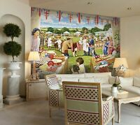 3D Pastoral Party A08 Wallpaper Wall Mural Self-adhesive Trevor Mitchell Zoe