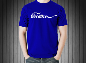 Cocaine Pablo Escobar T Shirt FREE Shipping Shirt PREMIUM Colombia Shirt