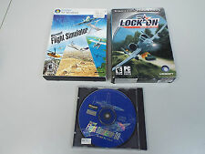 Microsoft Flight Simulator X Standard + 2 PC FLIGHT GAME (F2500)