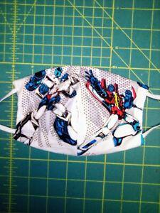 Kids face mask  transformers cotton boys washable pretty reusable cloth