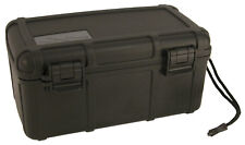 Black Cigar Caddy by Otter Box Airtight Waterproof Travel Humidor 15 Stick 4205