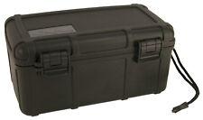 Black Cigar Caddy by Otter Box Airtight Waterproof Travel Humidor 15 Stick 4205