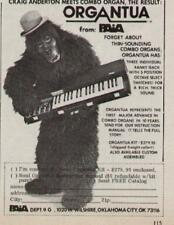 1978 THE ORGANTUA COMBO ORGAN FROM PAIA AD