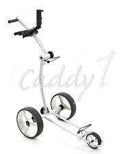 Design Golf Trolley CADDYONE 100 Silber, nur knapp 6kg
