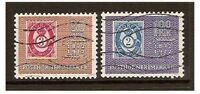 Norway - 1972 Stamp Centenary set - Used - SG 677/8