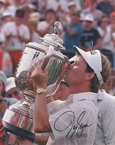 Jeff Sluman PGA Champion Signed Autograph 8x10 Photo J2 COA GFA