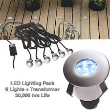 AURORA COMMERCIAL GRADE LED DECKING LIGHTS - PACK OF 6 TO CLEAR- 75% OFF MRP!!!!