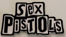 SEX PISTOLS SCHRIFT PATCH (MBP 285)