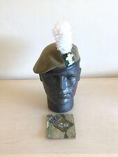 British Army Royal Welsh Beret, Badge, Hackle & MTP Brassard. Size 56cm.